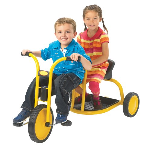 Angeles Kids Children Mini MyRider Tandem with Yellow Powder Coated Frame