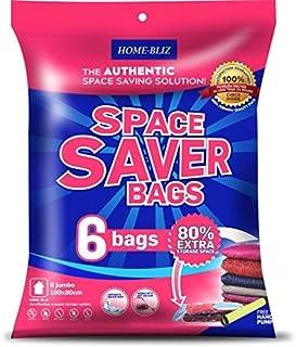 comprar comparacion Bolsas de almacenaje al vacío Premium (6pack 100 x 80CM ) Bolsas Extra Gruesas que permiten ahorrar Espacio * 6 bolsas Ju...