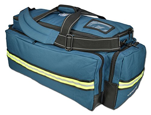 X-Tuff Oxygen and Airway Trauma Bag by Lightning X Navy Blue