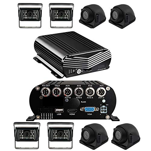 Fantastic Deal! 1080P MDVR Blackbox 4-8 Cam DVR System with HDD Drive, GPS & More! 2nd Generation Mo...