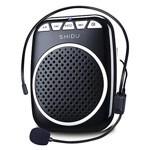 Recbot Amplificador de Voz portátil Diadema con micrófono