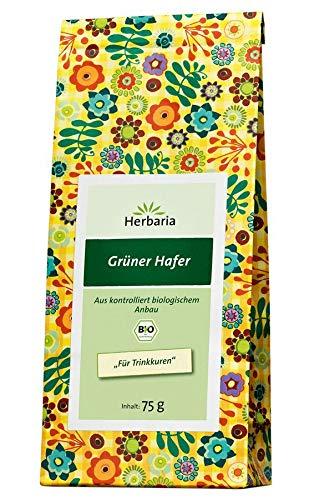 Herbaria - Grüner Hafertee bio - 75 g - 6er Pack