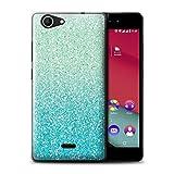 Stuff4 Phone Case for Wiko Pulp Fab 4G Glitter Pattern