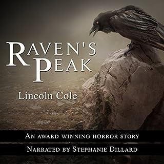 Raven's Peak audiobook cover art