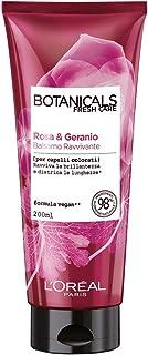 L'Oréal Paris Botanicals Geranio Rimedio di Brillantezza, Balsamo Districante per Capelli Colorati o Spenti, Senza Silicon...