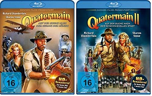 Quatermain Teil 1+2 [Blu-ray Set]