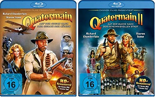 Quatermain Teil 1+2 [Blu-ray Set]
