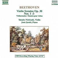 Violin Sonatas Opus 30 1-3