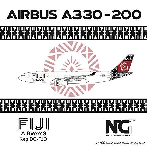 NG Model NGM61020 1:400 Fiji Airways Airbus A330-200 Reg #DQ-FJO (pre-Painted/pre-Built)