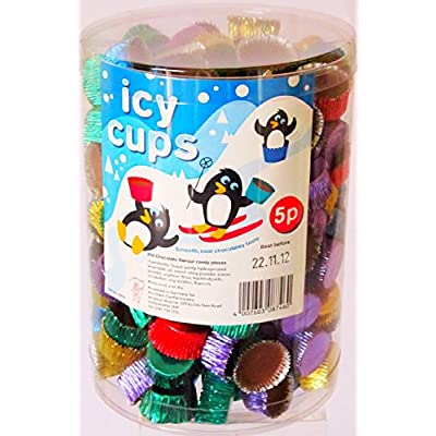 hannah's candy chocolate icy cups (tub of 200)… Hannah's Candy Chocolate ICY Cups (tub of 200)… 51Le6k7fo4L