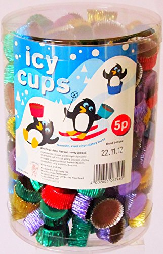 Hannah's chocolade Icy Cups (200 stuks container)