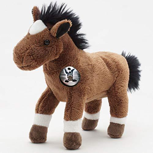 Pferd Bibi Pferdchen Pony 25cm Peluche de kuscheltiere. Biz