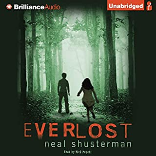 Everlost audiobook cover art