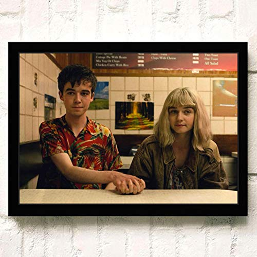 lubenwei The End of the F***ing World Movie HD Star Wall Art Home Decor Canvas Painting Art Nordic Decoration Room Poster 40x60cm No frame (WA-511)