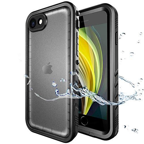 SPORTLINK wasserdichte Hülle für iPhone SE 2020, iPhone 7/ iPhone 8 Waterproof Case, Schutzhülle Ganzkörper Unterwasser Rugged Schale Schmutzabweisend IP68 zertifizierter wasserdichter Case