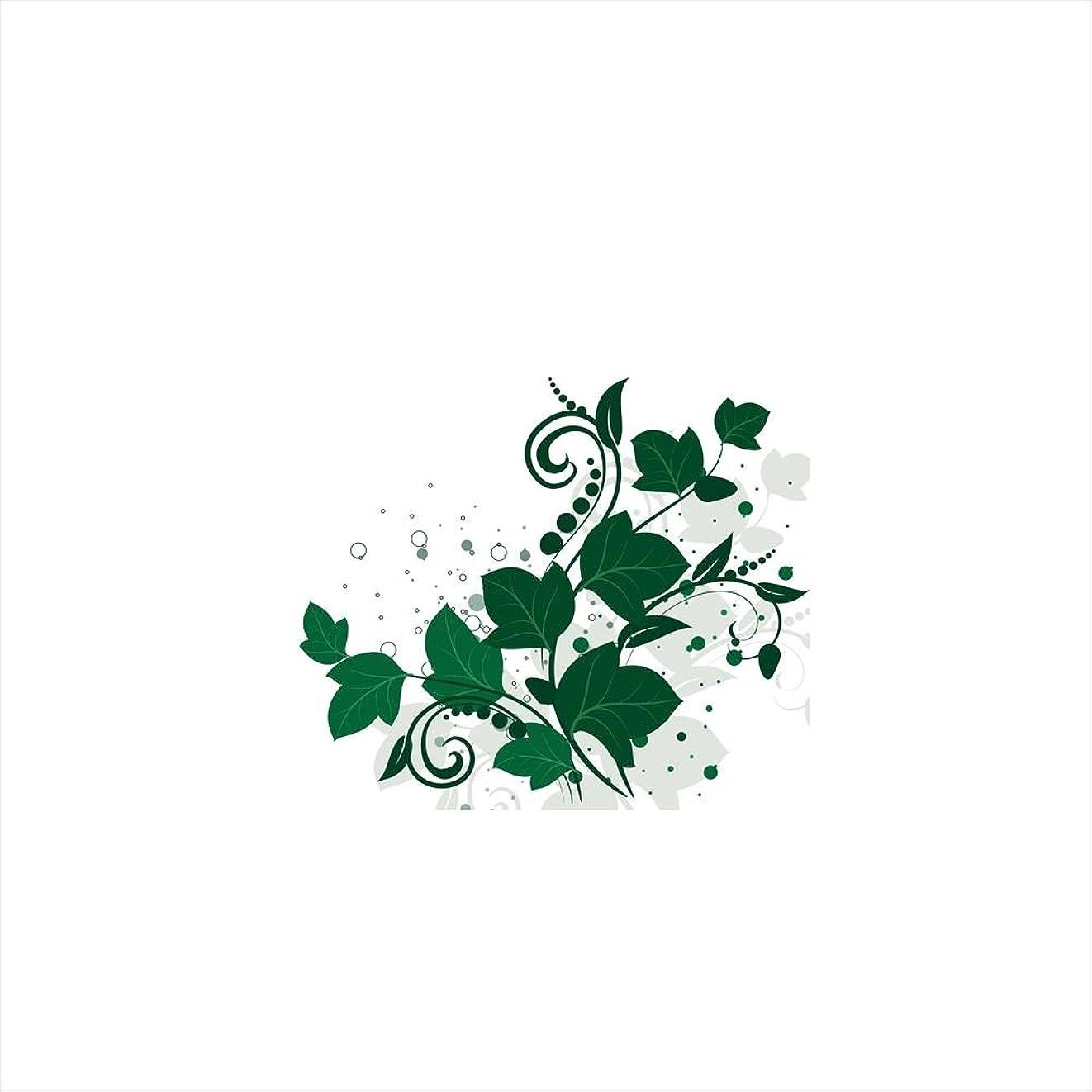 粘土スナック海嶺ウォールステッカー 飾り 60×60cm シール式 装飾 おしゃれ 壁紙 はがせる 剥がせる カッティングシート wall sticker 雑貨 ガラス 窓 DIY プチリフォーム パーティー イベント 賃貸 花 植物 緑 009128