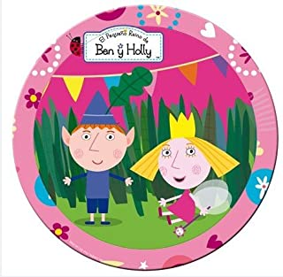 ben and holly party plates