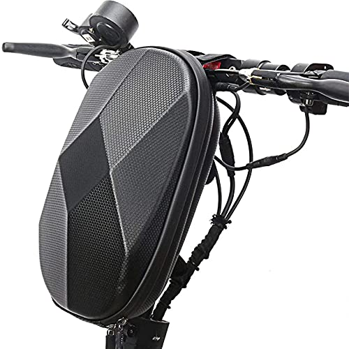 XIAOHUAHUA Bolsa De Cabeza De Bicicleta para Scooter Bolsa De Manillar De Bicicleta Plegable Bolsa De Cabeza De Bicicleta De Equilibrio De Carcasa Dura De EVA Bolsa Colgante
