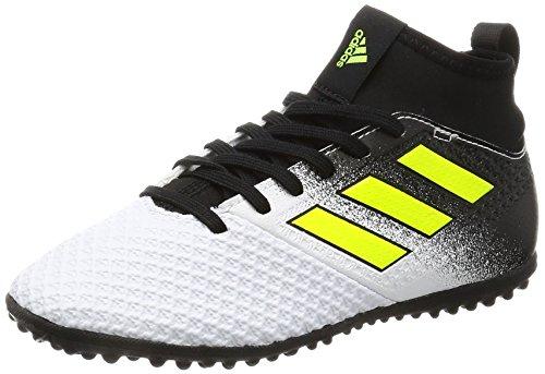 adidas Ace Tango 17.3 TF J, Zapatillas de Fútbol para Niñas, (FTWR White/Solar Yellow/Core Black), 36 EU