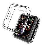 moodie Coque de Protection en Silicone pour Apple Watch 4/5 44 mm Noir