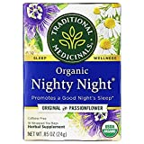 Traditional Medicinals Organic Nighty Night Relaxation Tea (Pack of 1), Promotes a Good Night's...