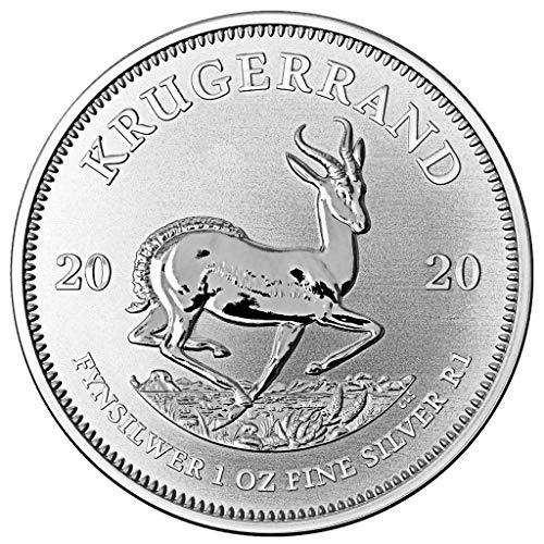 DEUTSCHER MÜNZEXPRESS Krügerrand Südafrika 2020 | Silbermünze 1oz zum Sammeln