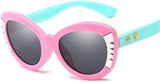 Yiph-Sunglass - Sunglass Fashion Luz polarizada Niños Gafas de Sol Protector Solar UV400 Dibujos Animados Marco Completo Silicona Gel Resina