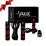 Best Weighted Jump Ropes - Weighted Jump Rope by Pulse (1LB) with Memory Review