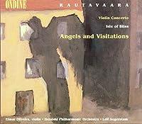 ラウタヴァーラ:ヴァイオリン協奏曲/至福の島/天使たちの訪れ