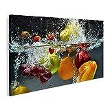islandburner Bild auf Leinwand plätscherndes Frisch Obst