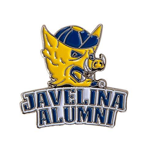 Texas A&M University Kingsville NCAA Logo Enamel Made of Metal (Lapel Pin Javelina Alumni)