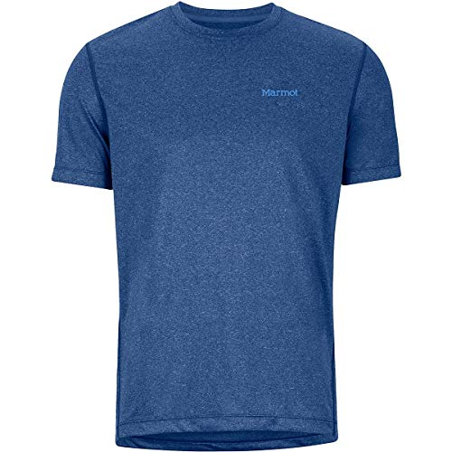 Marmot Conveyor T-Shirt Homme, Varsity Blue Heather, S