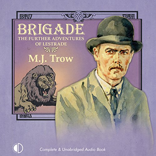 Couverture de Brigade: The Further Adventures of Lestrade