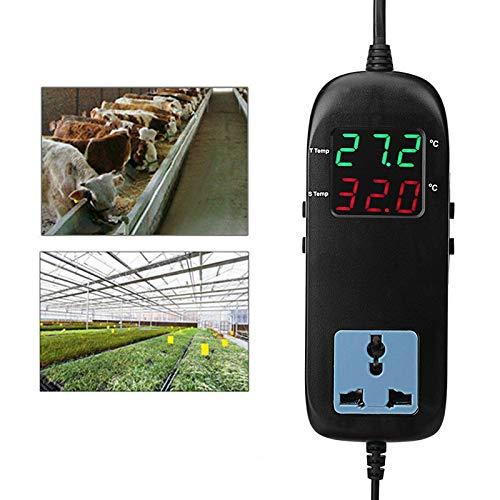 90~250V MH-2000 Digitaler Temperaturregler -40 ° C-120 ° C-Regler Intelligente elektronische Thermostat Breeding Temperatur für Home Kaltspeicher und Farm