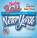 New York Strings NYSB61 Electric Bass Nickel Wound - Long Scale - Innovation - Quality - The New York Strings are a symphony of strings - MADE IN USA