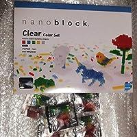 ナノブロック クリアカラーセット NB-016 800ピース +クリアカラーブロック5袋 nanoblock