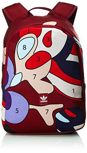 adidas Damen Essentials Rucksack, Collegiate Burgundy/Multicolor, 47 x 30 x 15 cm