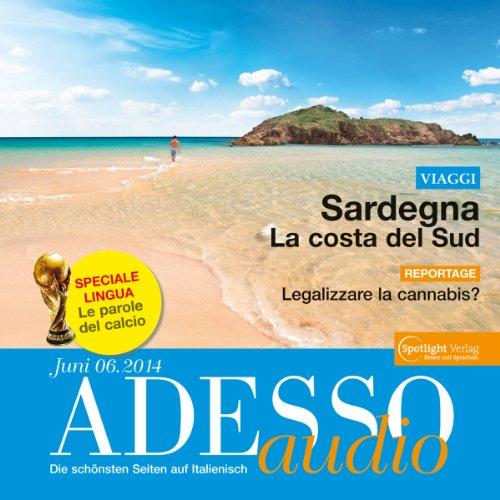 ADESSO Audio - Le parole del calcio. 6/2014 Titelbild