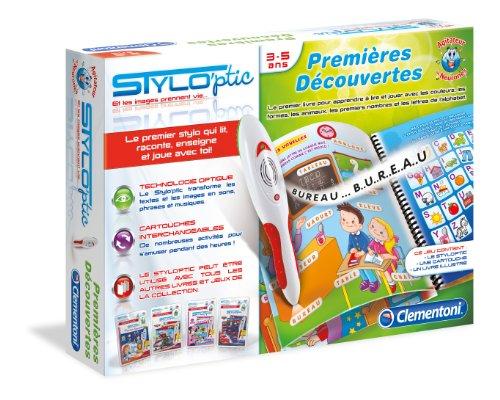Clementoni 62197 Jeu éducatif Stylo'ptic premières découvertes 3-5 ans