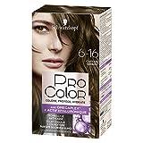 Schwarzkopf - Pro Color - Coloration Permanente Cheveux Anti-Casse - Châtain Cendré 6.16