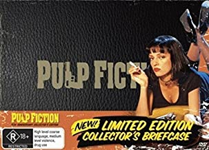 Pulp Fiction Limited Edition Collector's Brieface 2-DVD Set ( Black Mask ) [ NON-USA FORMAT, PAL, Reg.4 Import - Australia ]