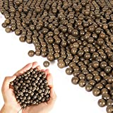 KISEER 2500 Pcs 3/8 Inch Slingshot Ammo Ball Natural Biodegradable Clay Slingshot Ball