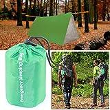 ELECTROPRIME 1pcs Waterproof Reusable Emergency Sleeping Bag Thermal Survival Camping 2M*1.2M