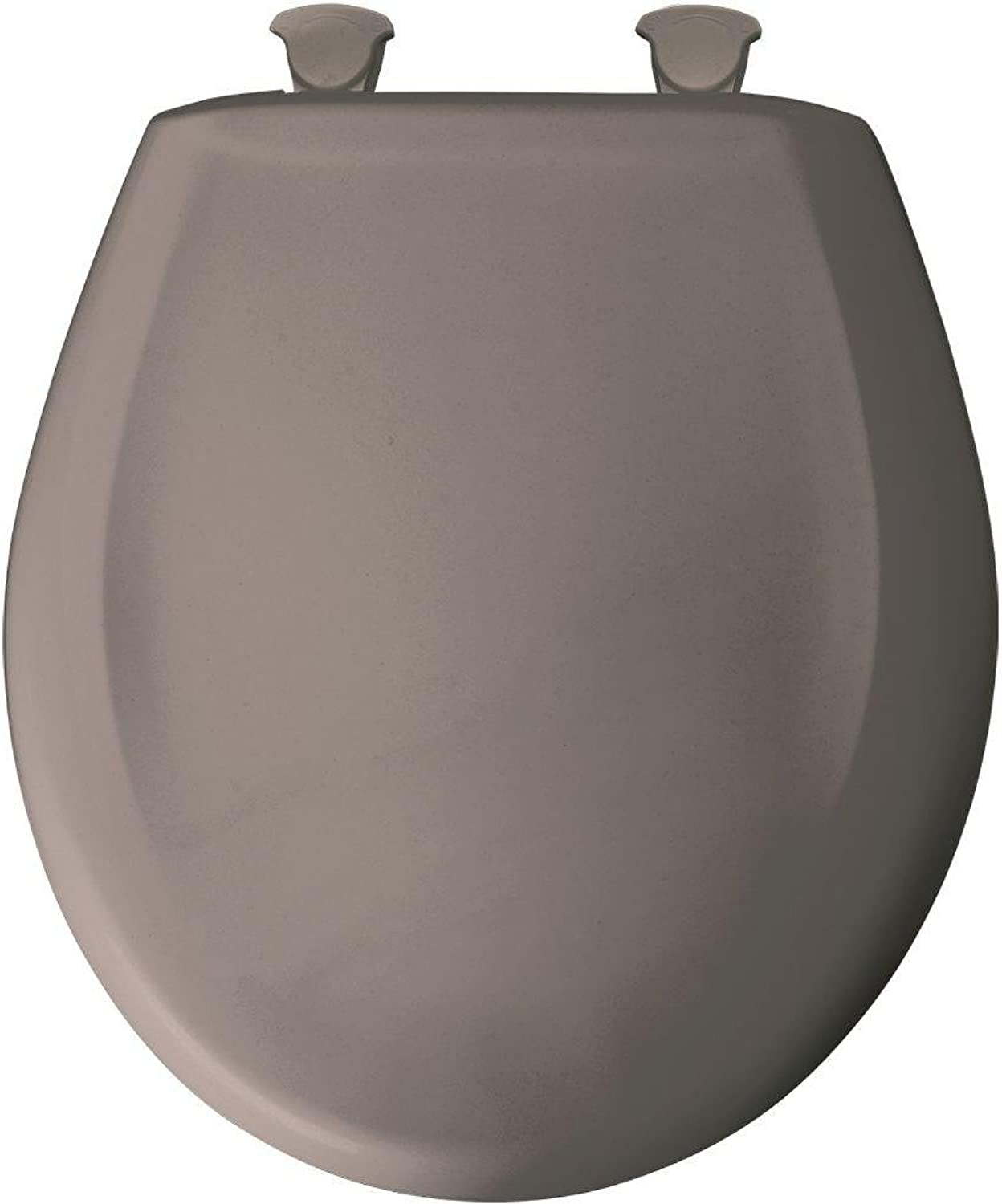 Church Seat 200SLOWT 468 Round Closed Front Toilet Seat in Classic Mink