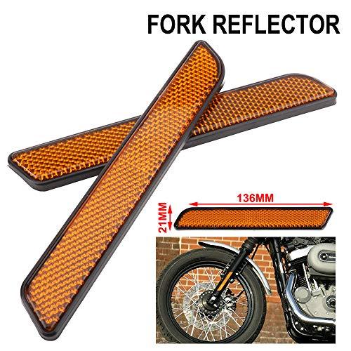 AnXin - Reflector Lateral Motocicleta Parte Delantera