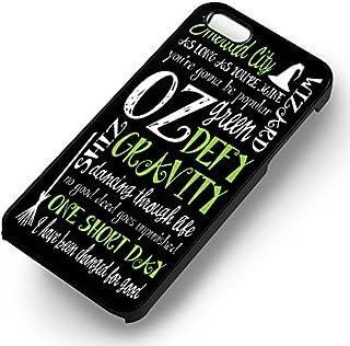 Wicked ミュージカル引用句 iPhone 6 と iPhone 6s ケース ブラック good the drem