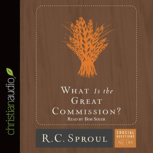 What Is the Great Commission? audiobook cover art