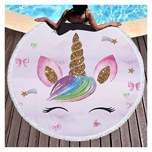 Playa Fashion Feather Beach Beach Toalla de playa con tasel microfibra 150cm Natación Toalla Towel Tapastre Yoga Manta Alfombra para niños, mujeres, hombres, niño, niña ( Color : Dreamcather 17 )