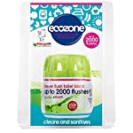 Ecozone Forever Flush 2000 - Toilet Cleaner and Freshener - Last for up to 2000 Flushes - Helps to Prevent Stains and…