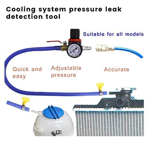Kühlsystemtester Kühlerabdrückgerät Kühler Druck Prüfung Abdrückgerät Kühlsystem Tester Abdrücken Prüfgerät Wassertank Lecksucher Werkzeug